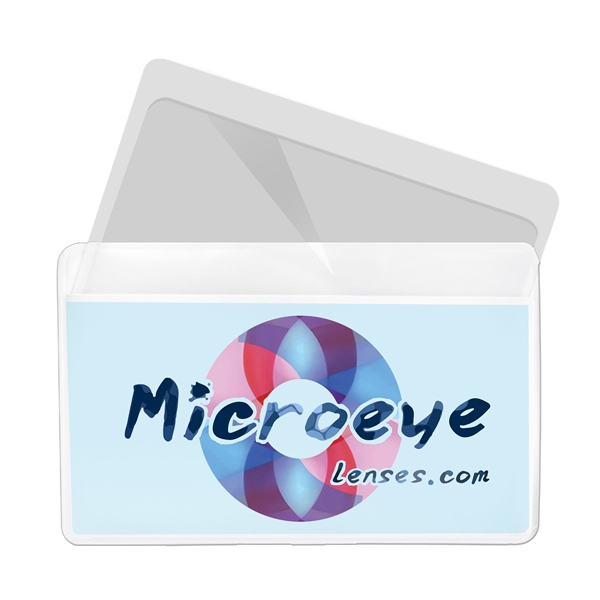 Customized Magnifier/credit card holder