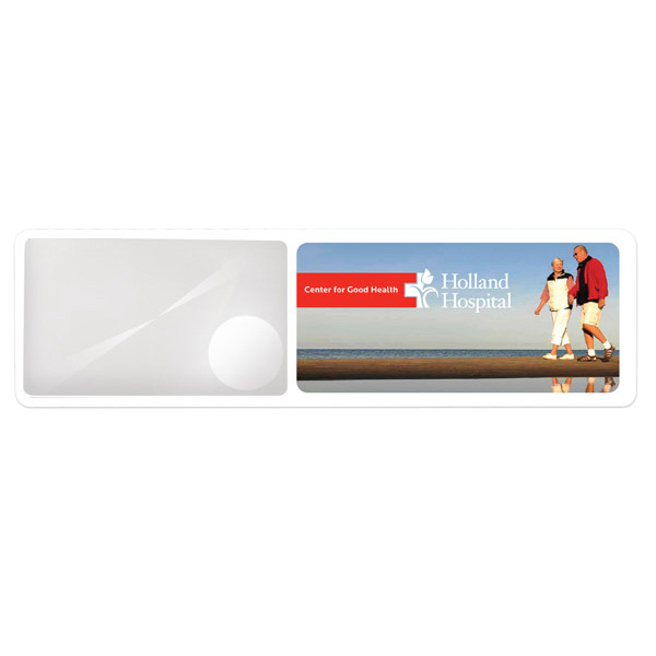 Personalized Duo magnifier bookmark