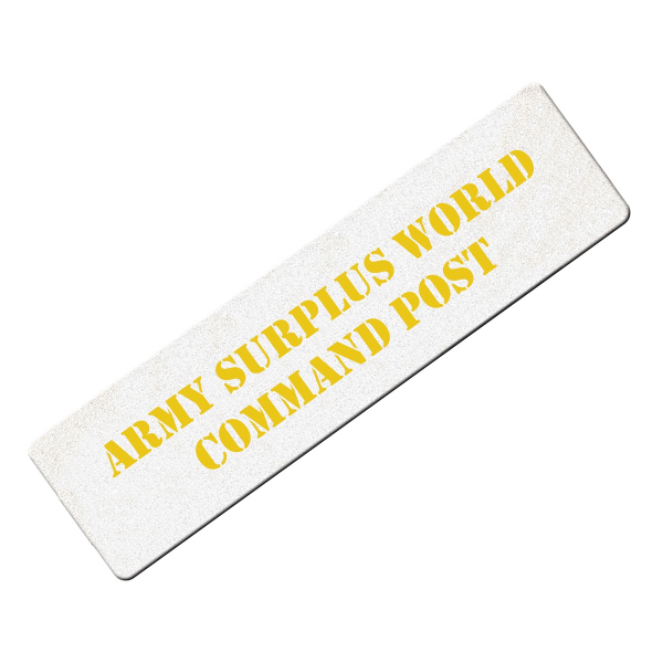 Promotional Mini bumper sticker shape emery board