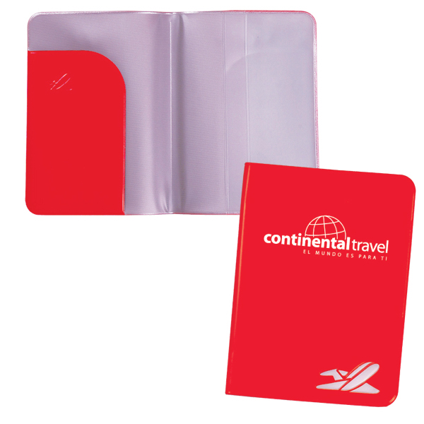 Printed Vinyl Passport Cover