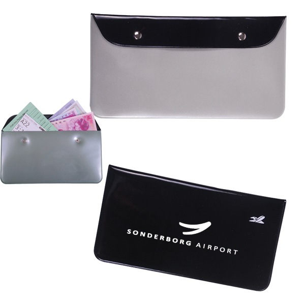 Personalized Vinyl Travel Document Pouch