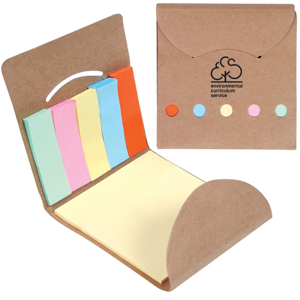 Printed Pocket Sticky Memo Book