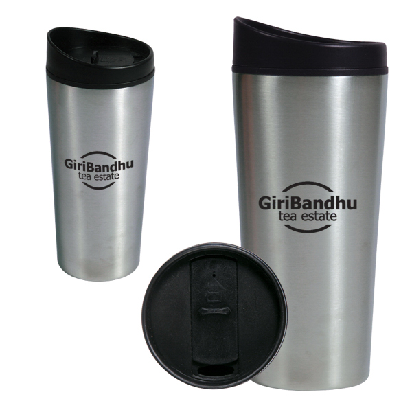 Imprinted 16 oz. Slant Top Auto Tumbler