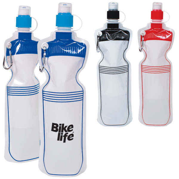 Imprinted 18oz Smushy Flexible Bike Bottle