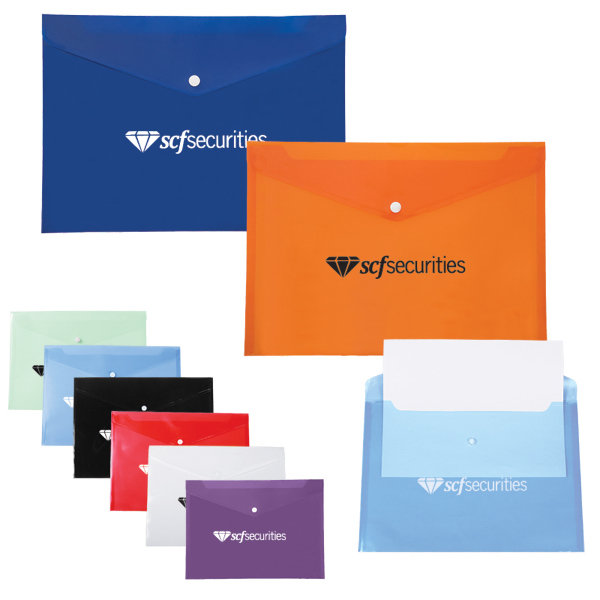 Customized Document Envelope