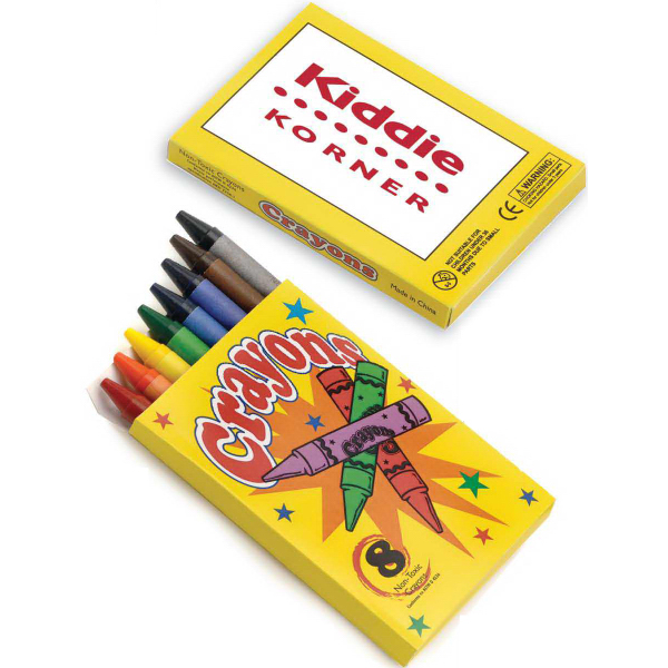 Custom 8-Pack Crayon - BLANK