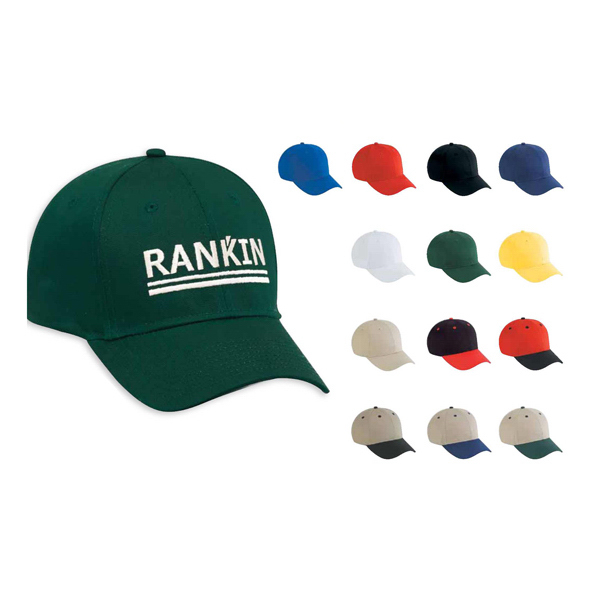 Printed Six panel low profile pro style cap