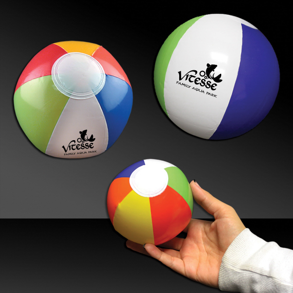 "Printed 6"" Mini Inflatable Beach Ball"