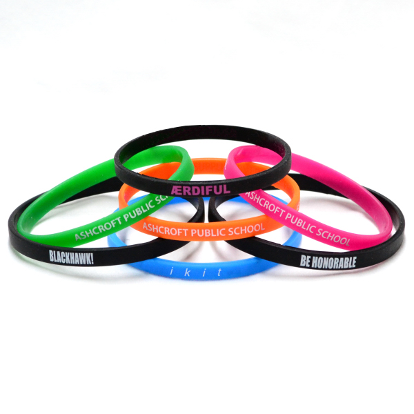Personalized Debossed Mini Wristband