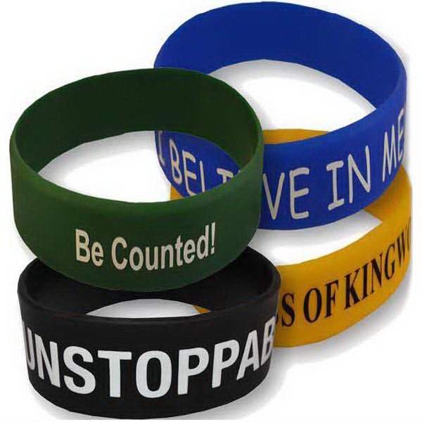 "Promotional 1"" Printed Wristbands"