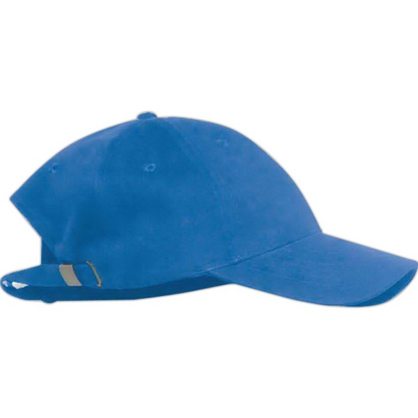 Promotional Anvil Solid Brushed Twill Cap