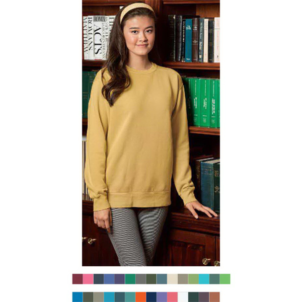 Printed Comfort Colors Crewneck Sweatshirt