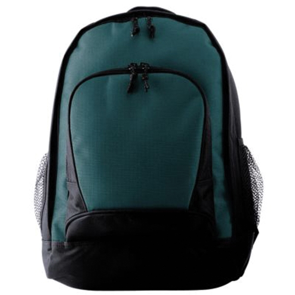 Imprinted Backpack with double polyurethane coating