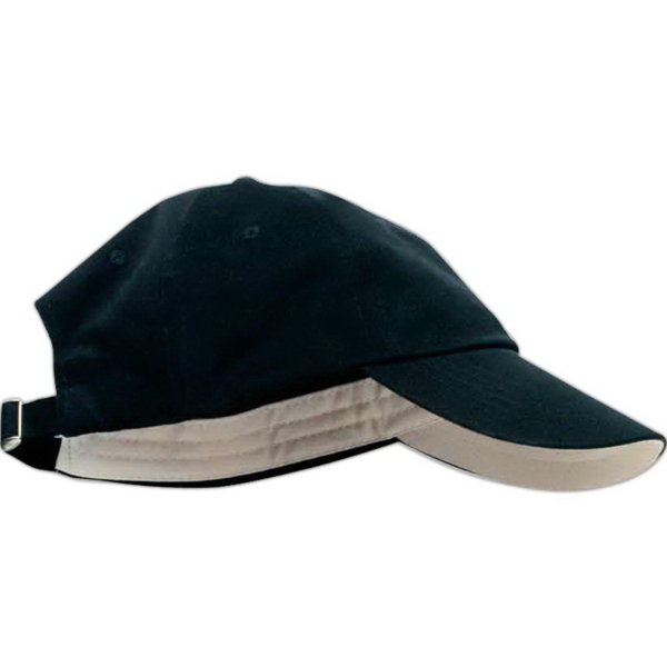 Imprinted Anvil Solid Low-Profile Brushed Twill Cap
