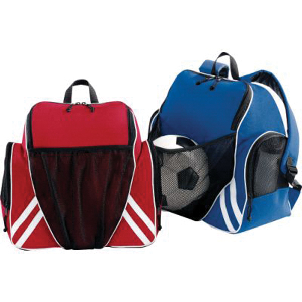 Printed Tri - color ball backpack
