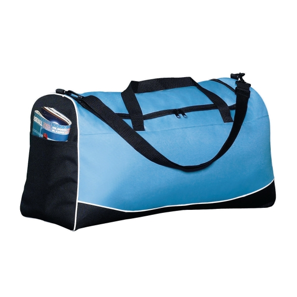Promotional Large tri color sport bag
