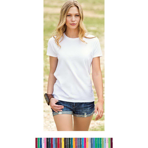 Personalized Gildan Ultra Cotton (TM) Classic Fit Ladies Tee