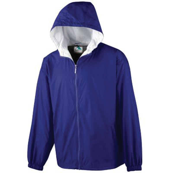 Personalized Youth hooded taffeta jacket