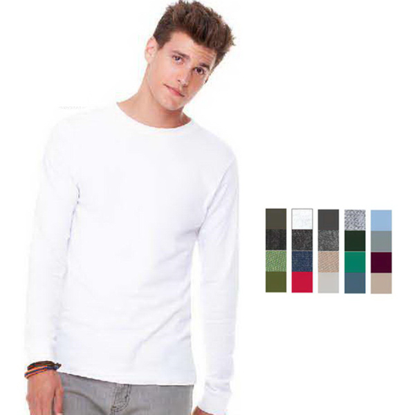 Personalized Bella+Canvas Men's Long Sleeve Jersey Tee