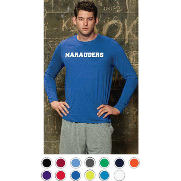 Personalized Gildan Adult Performance Long Sleeve Tee