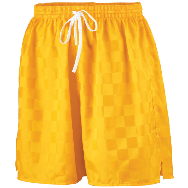 Personalized Youth long checkerboard nylon shorts