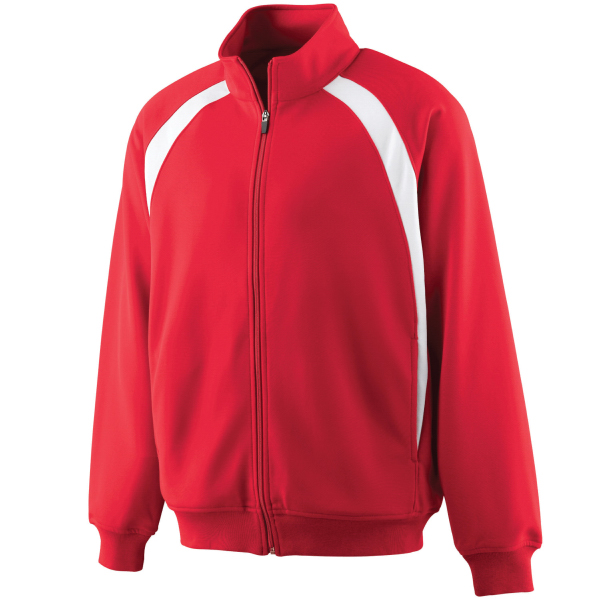 Promotional Youth double knit color block jacket