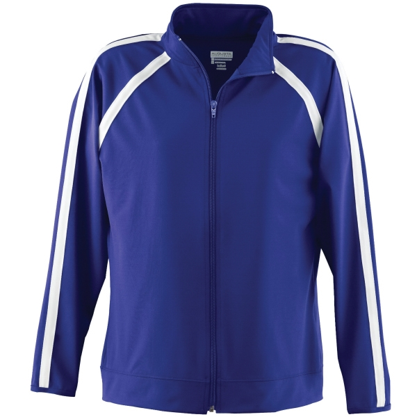 Promotional Girls wicking poly / spandex jacket