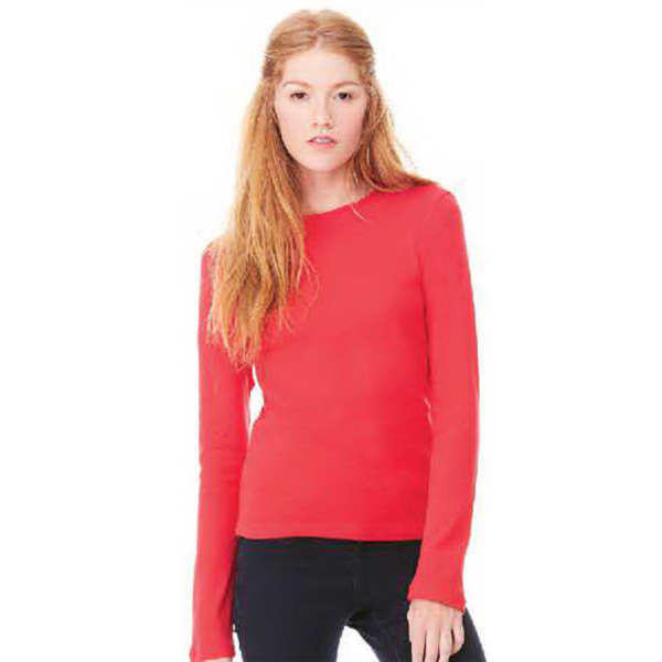Imprinted Bella + Canvas Women's Long Sleeve Tee