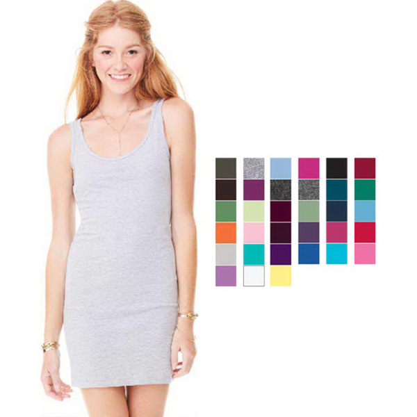 Customized Bella + Canvas Women's Jersey Tank Dress