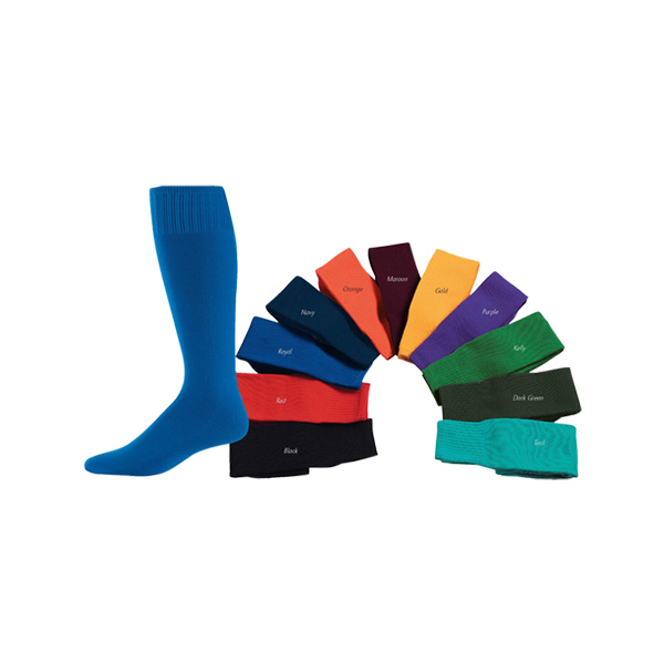 Printed Youth size game sock