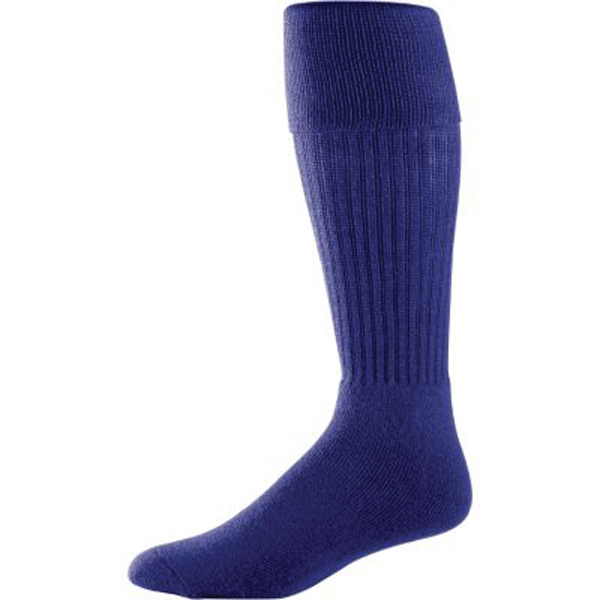 Imprinted Intermediate soccer socks