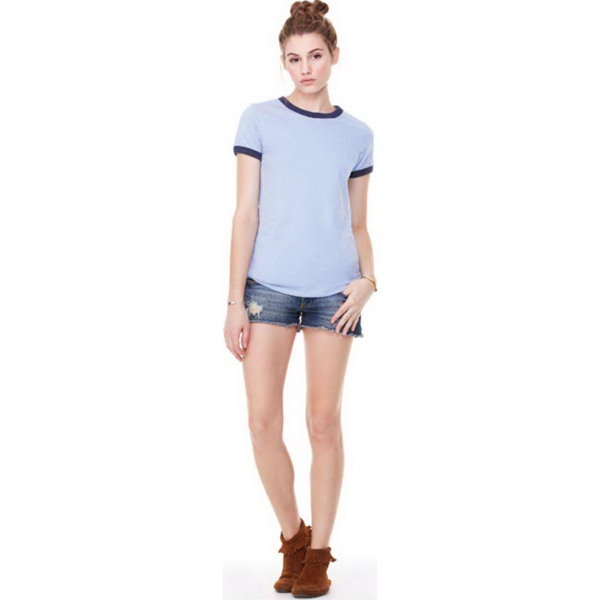 Promotional Bella + Canvas Women's Jersey Ringer Tee