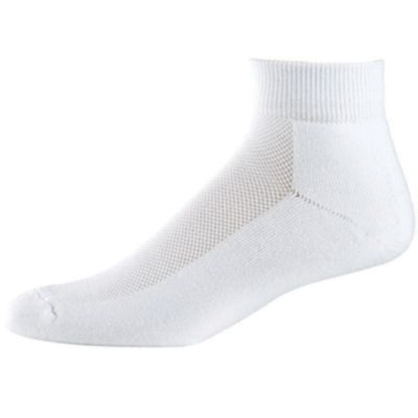 Custom Adult wicking ankle sock