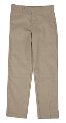 Custom Dickies Girls Youth Flat Front Pants