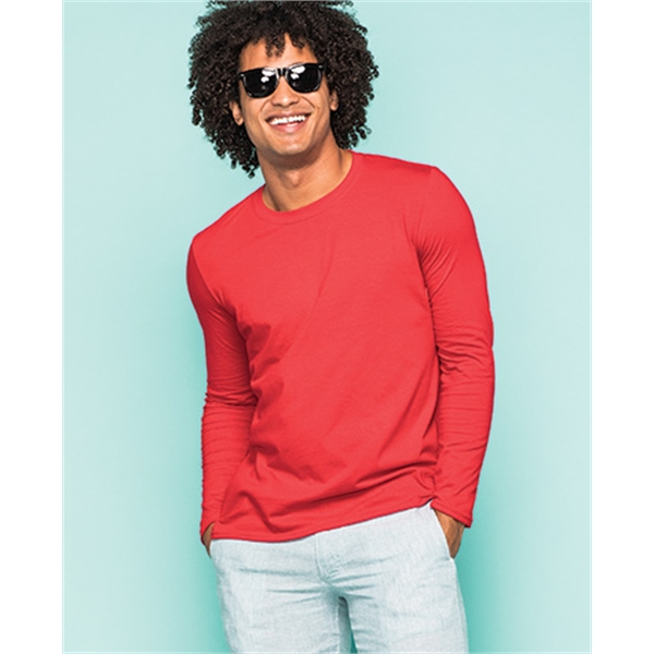 Imprinted Gildan Softstyle Adult Long Sleeve Tee