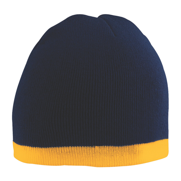 Printed Two tone beanie