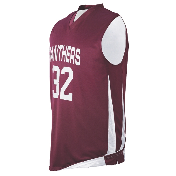 Printed Youth reversible wicking game jersey