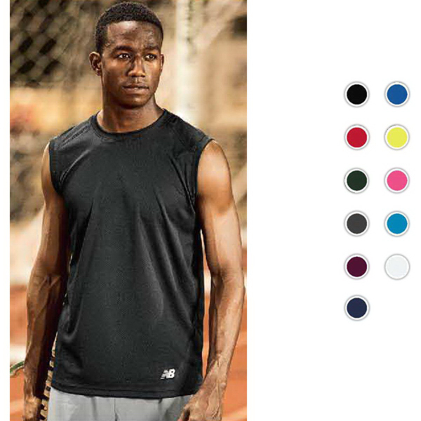 Custom New Balance NDurance Men's Workout T-Shirt