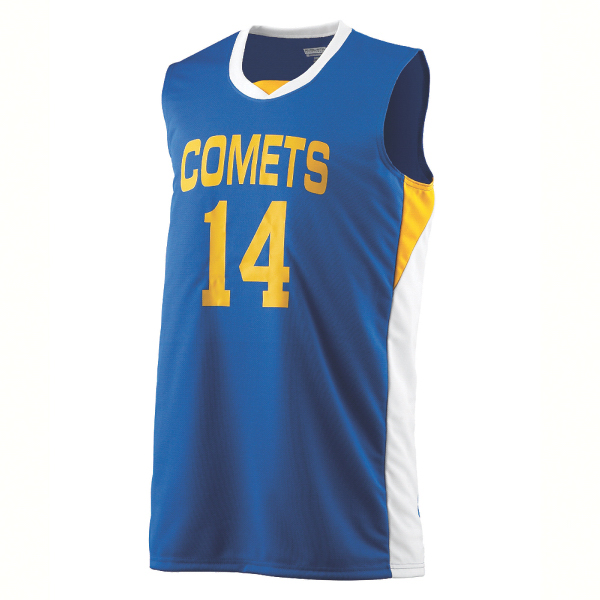 Customized Youth wicking duo knit game jersey