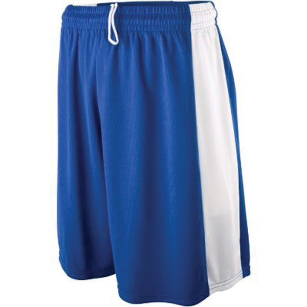 Printed Youth wicking mesh game shorts