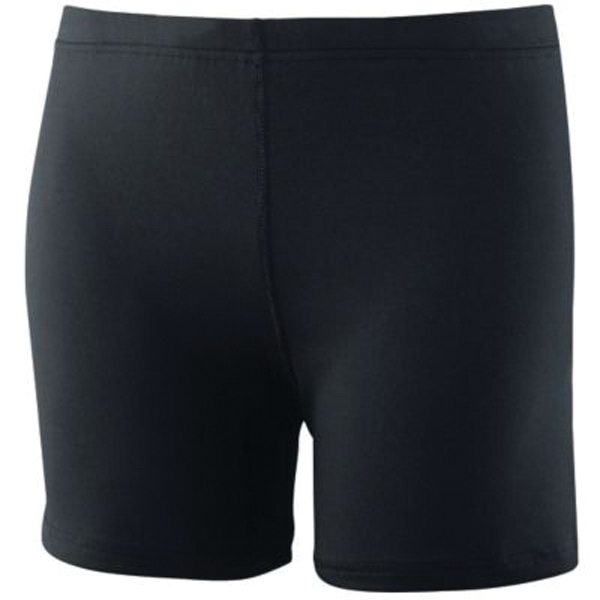 Promotional Girls poly / spandex shorts