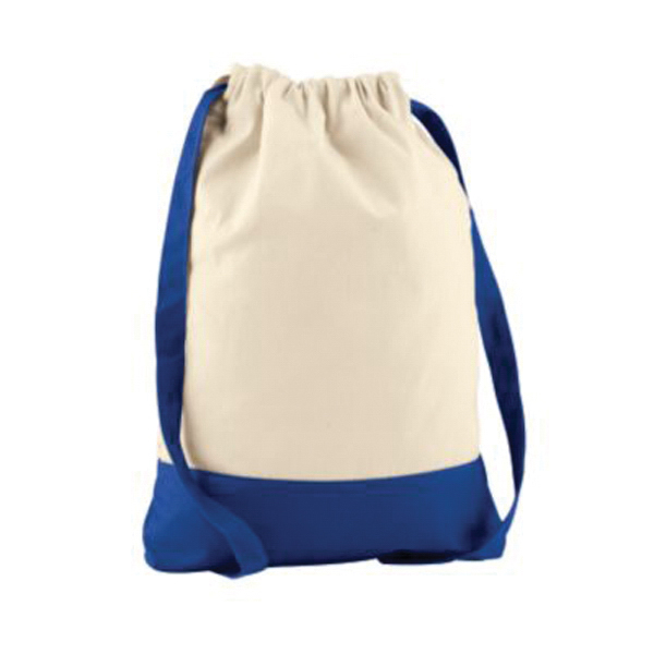 Customized Twill drawstring backpack