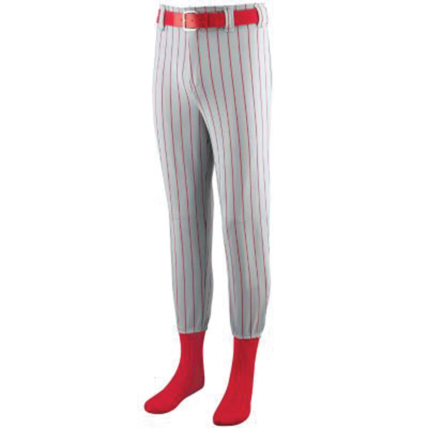 Printed Youth striped softball / baseball pants