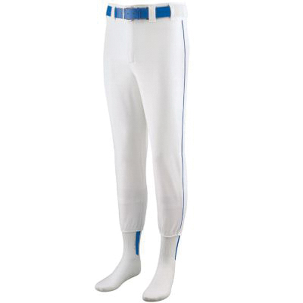 Printed Youth softball / baseball pants with piping