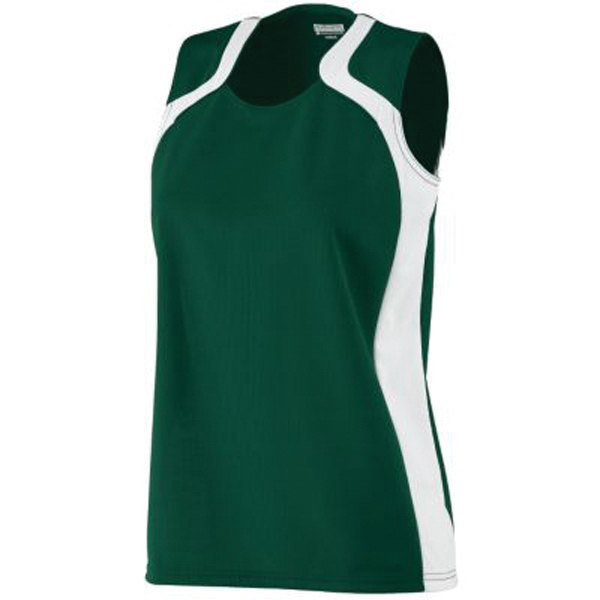 Custom Girls' wicking mesh jersey