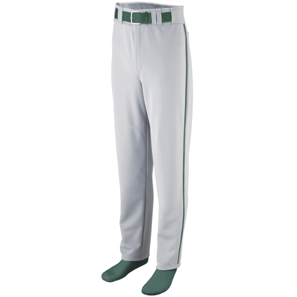 Imprinted Baseball / softball youth pants with reinforced knees