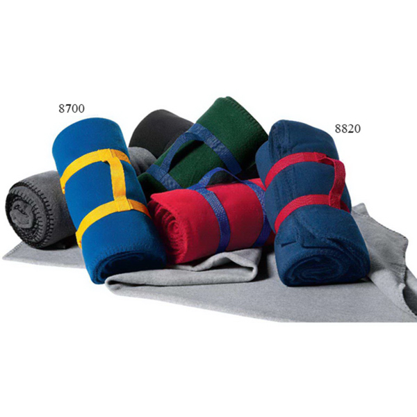 Promotional Alpine Fleece Blanket