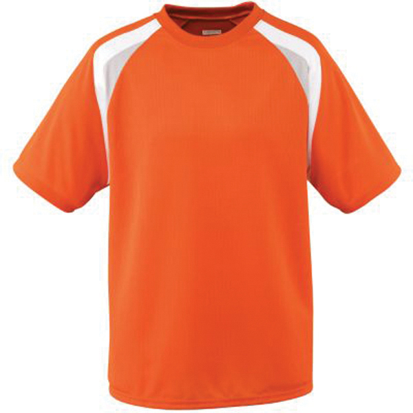Personalized Youth wicking mesh tri color jersey