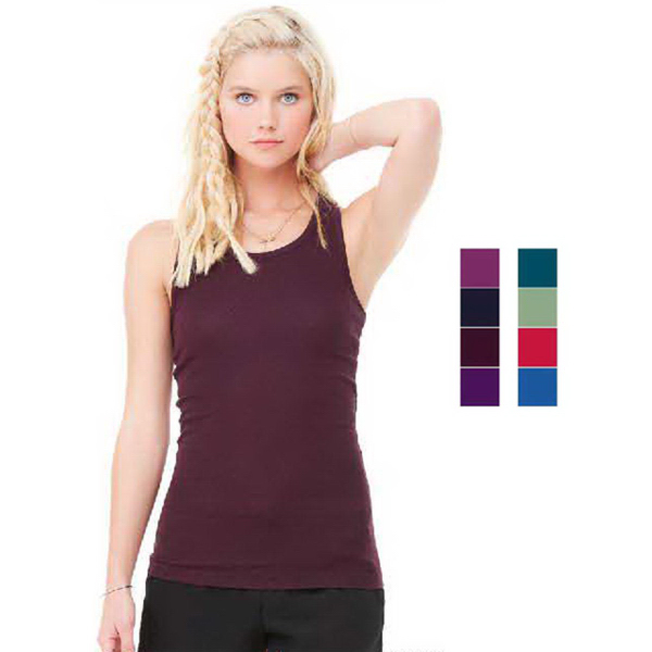 Imprinted Bella + Canvas Women's Racerback Tank