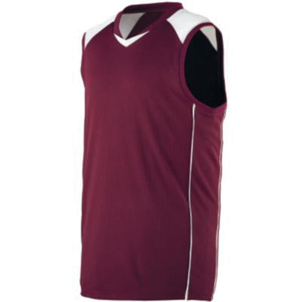 Imprinted Youth wicking mesh / dazzle game jersey